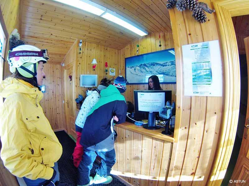 estacion de esqui astun: