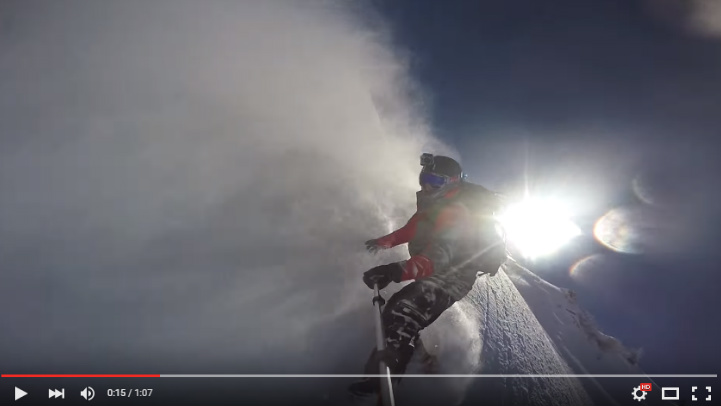 "GoPro ""line of the winter"""