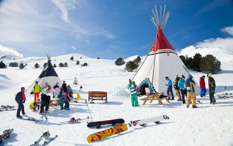 Formigal Estación De Esquí Del Pirineo Aragonés Esqui