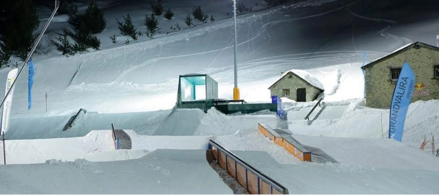 Los mejores snowparks de España y Andorra