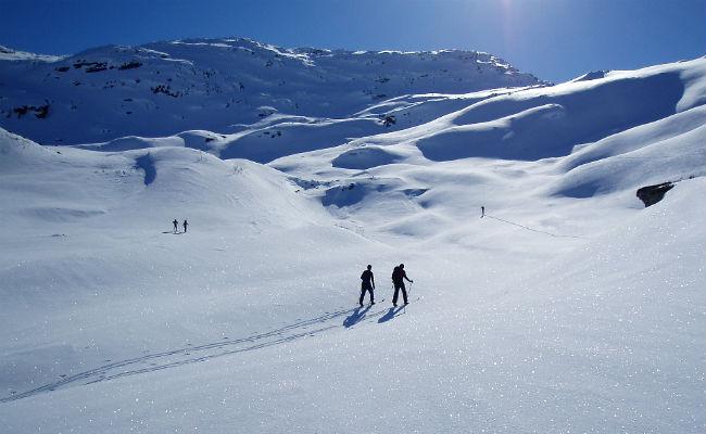 ¿Cómo esquiar powder?