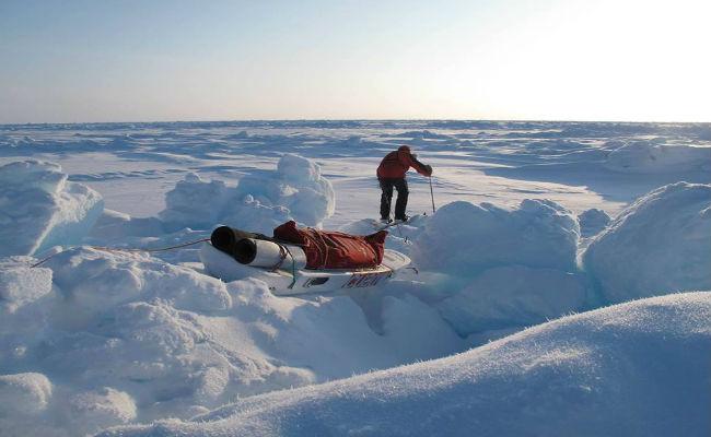 El Polo Norte, la aventura de Jordi Canal-Soler