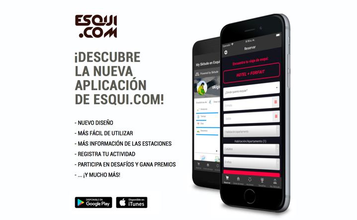 Nuevas mejoras y actualizaciones en la app de Esqui.com
