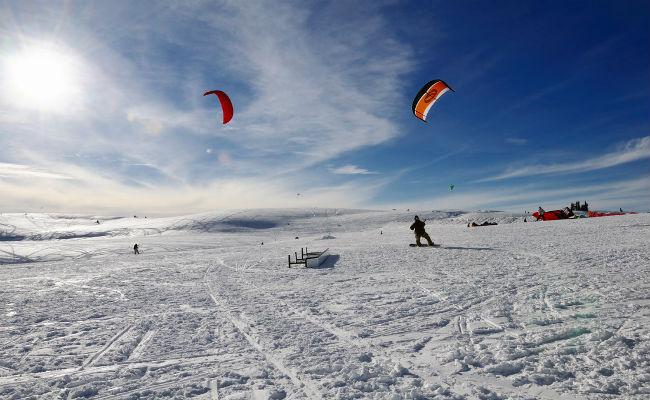 Snowkite: todo lo que debes saber