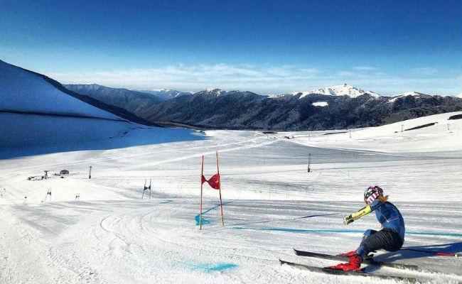 El centro de ski de Corralco, a fondo