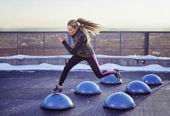 Workout de 30' para esquiadores