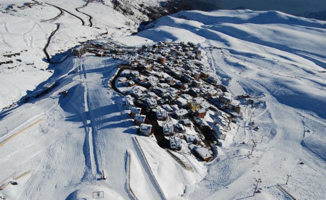 Esquiar en La Parva; al detalle