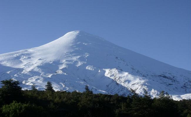 Esquiar en volcanes en Chile