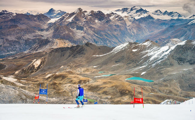 Esquiar en verano...¡es posible!