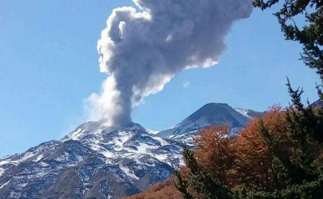 Erupciones en Nevados de Chillán, según Jorge Clavero
