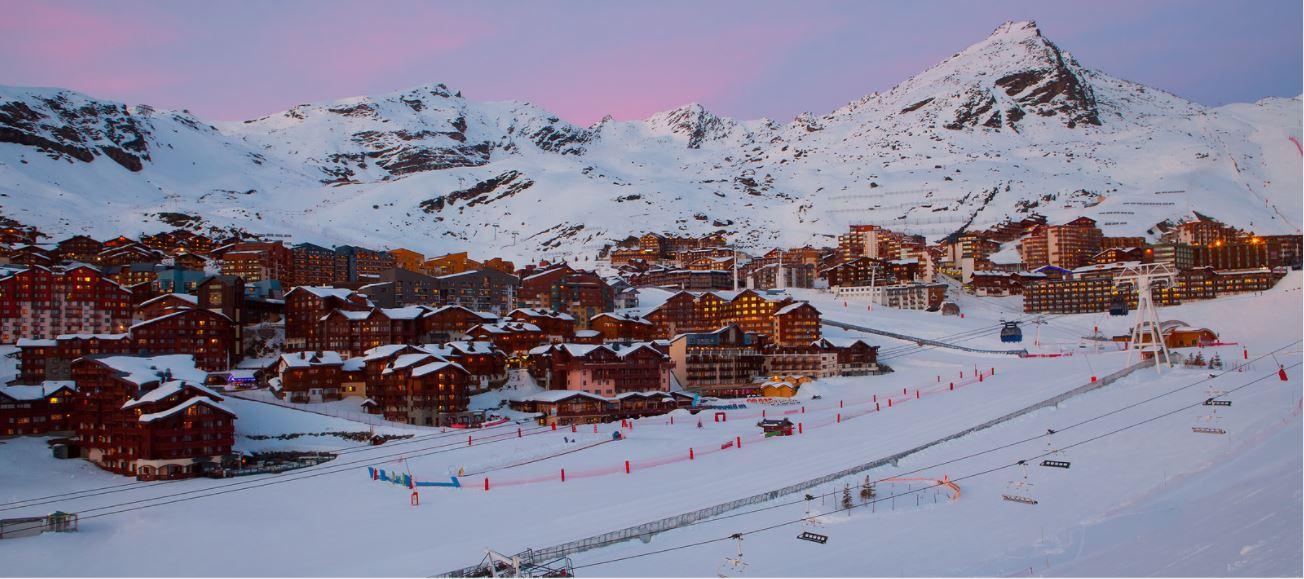 Val Thorens está impaciente por esquiar y anuncia fecha de apertura: el 20 de noviembre