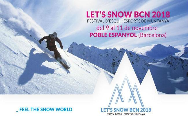 Guia Let's Snow BCN18. ¿Te lo vas a perder?