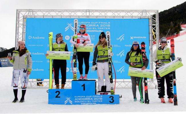 Ariane Readler se lleva la victoria y el título en Grandvalira