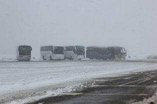 100 escolares quedan atrapados en Sierra de Béjar-La Covatilla por una intensa nevada