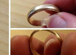 Perdió su anillo de bodas en una estación de esquí... ¡Y lo recupera 5 años después!