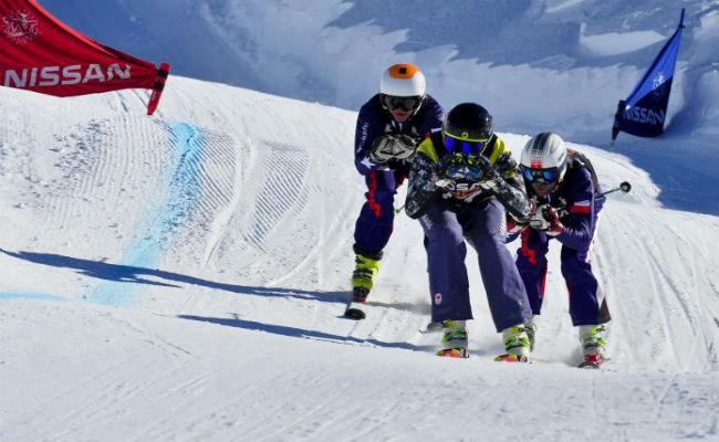 Competiciones FIS en La Parva