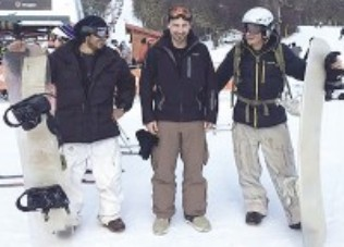 Una tabla de snowboard 100% reciclable