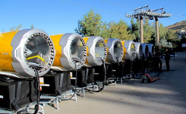 Sierra Nevada recibe 33 cañones de última generación
