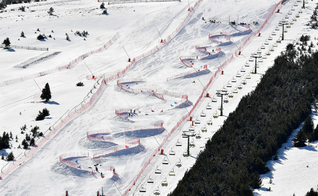 La Molina; estreno mundial del Dual Banked Slalom