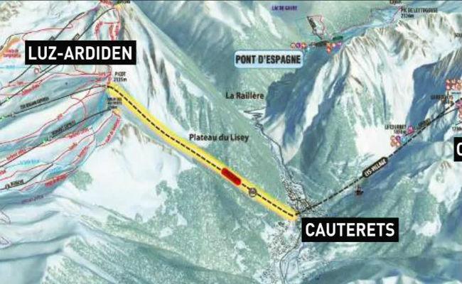 Posible conexión de Cauterets y Luz Ardiden