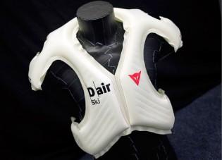 Llega el chaleco airbag para esquiadores