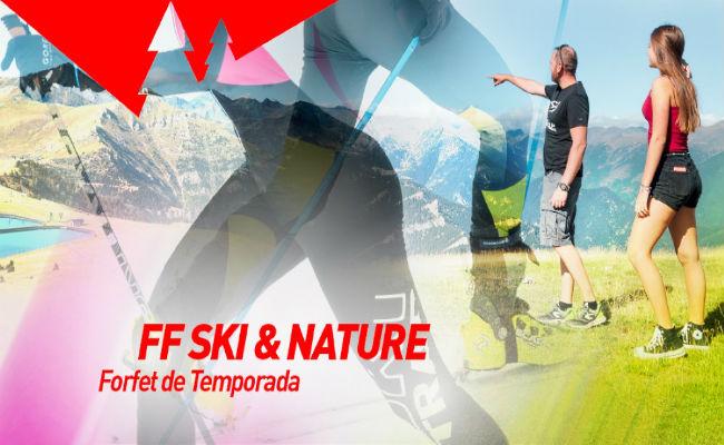 Pal Arinsal lanza el forfait de temporada Ski & Nature 2020-2021