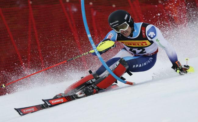 Del Campo; 27º en slalom de los Mundiales de esquí alpino 2019
