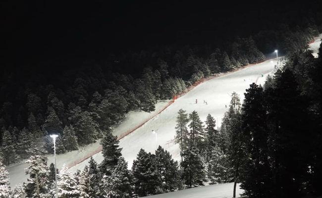Masella pone fin a la actividad del esquí nocturno