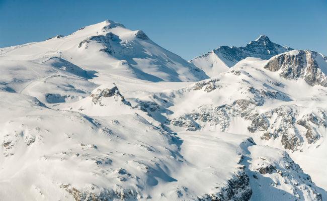 Francia, Austria y Suiza; vista puesta en el esquí de verano