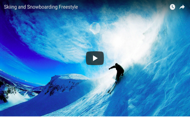 Skiing and Snowboarding Freestyle