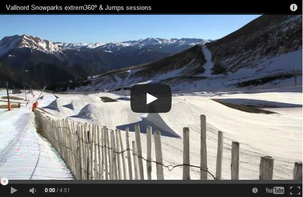 Vallnord Snowparks: 360º Extrem & Jumps Sessions
