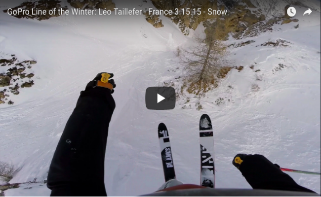 GoPro Line of The Winter: Léo Taillefer