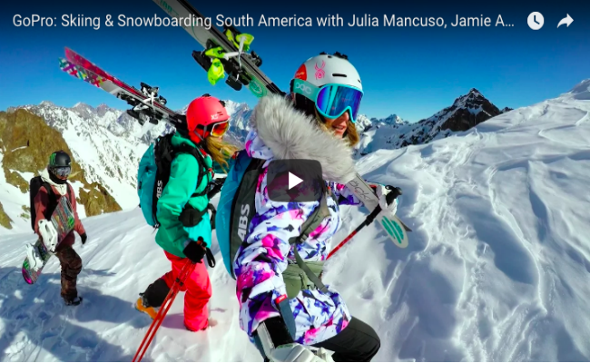 GoPro: Skiing and Snowboarding South America