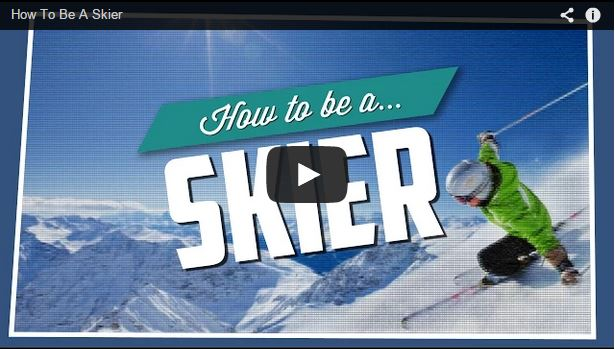 Convierte en esquiador en sencillos pasos