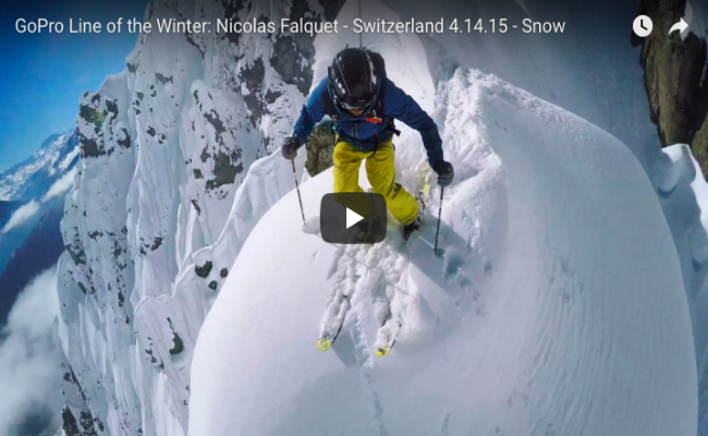 GoPro Line of the Winter: Nicolas Falquet