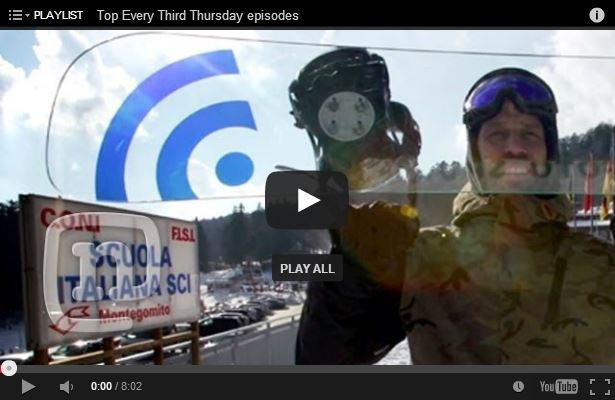Fragile Italian Glass Snowboard: Every Third Thursday