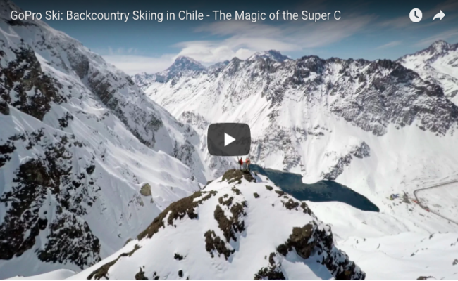 GoPro Ski Chile - The Magic of the Super C
