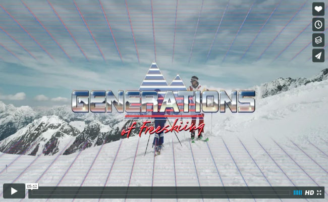 Red Bull - Generations of Freeskiing