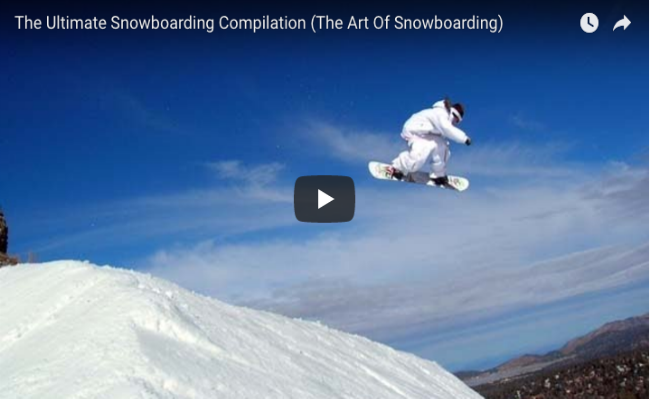 The Ultimate Snowboarding Compilation