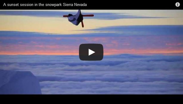 Sunset Session - Snowpark Sierra Nevada