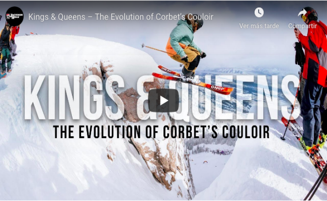 The Evolution of Corbet's Couloir
