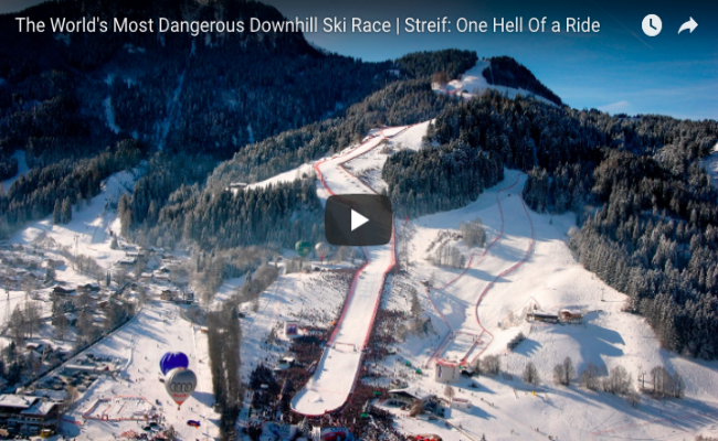 The World's Most Dangerous Downhill Ski Race