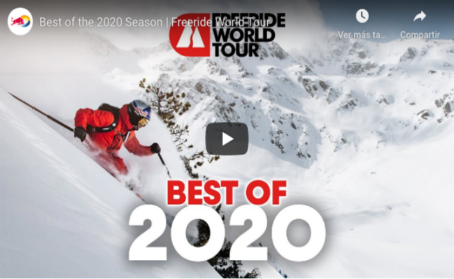 Freeride World Tour - Best of season 2020