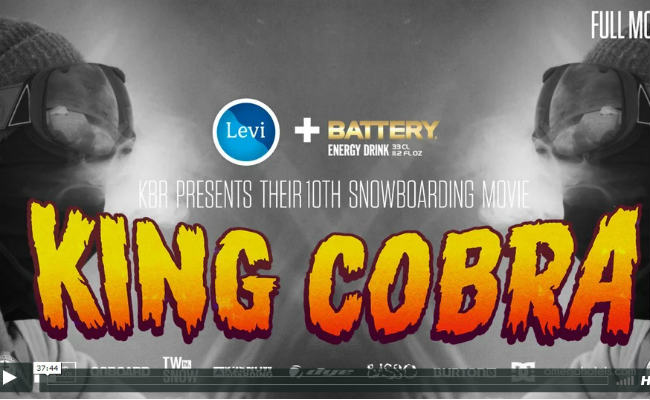 KBR: King Cobra - Full Snowboarding Movie