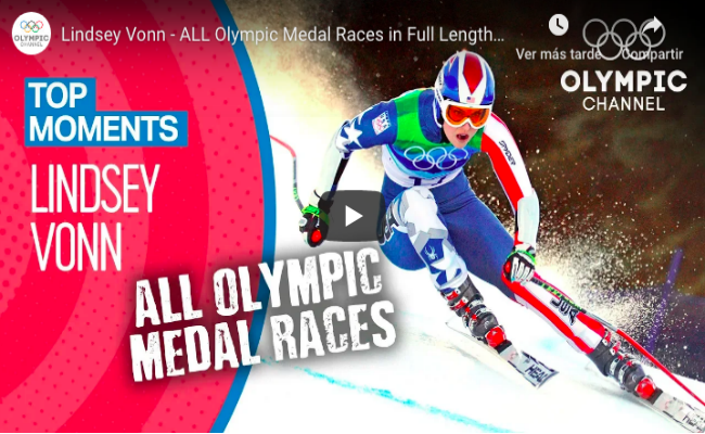 Lindsey Vonn - Top Olympic Moments