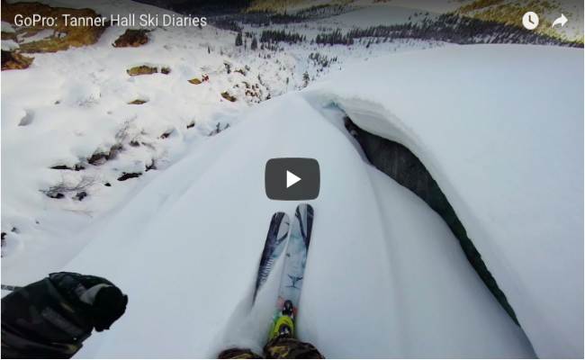 GoPro: Tanner Hall Ski Diaries